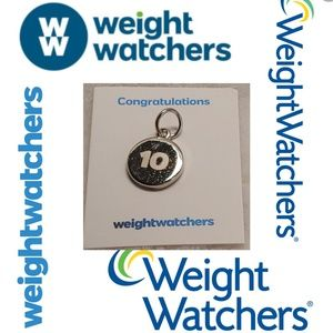 🏷 Weight Watchers 10lb Congratulations Charm